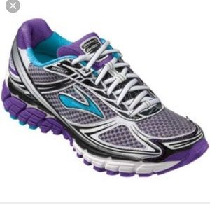 Brooks teal purple ghost 5 running shoes